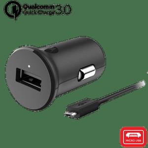 Motorola TurboPower ™ 18 autolader met micro-USB-datakabel