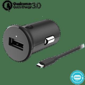 Motorola TurboPower ™ 18 autolader met USB-C datakabel